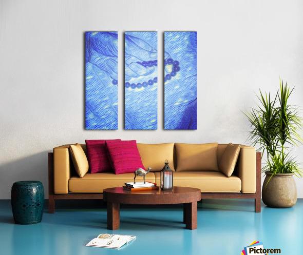 Resting Moments  Split Canvas print