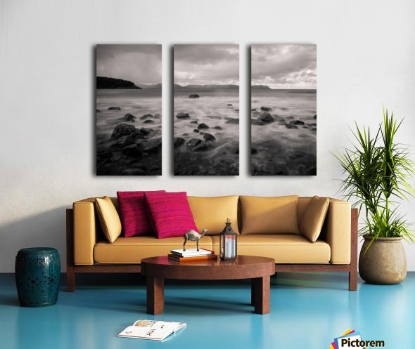 Smelt Brook Split Canvas print
