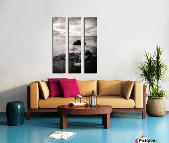 Flow Split Canvas print