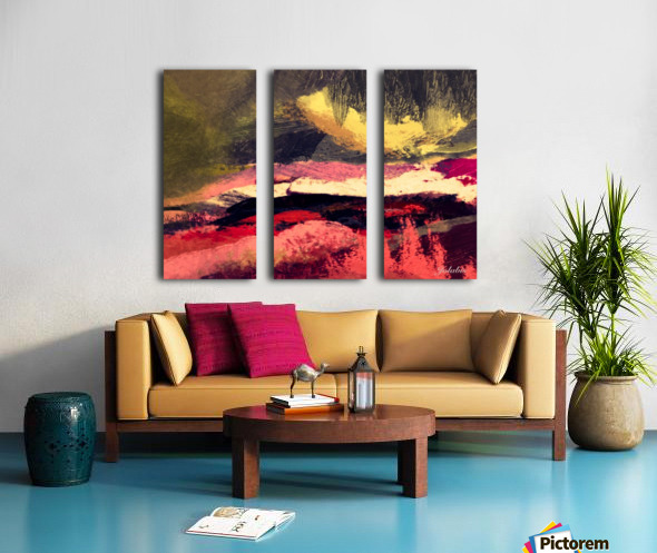 123E34D4 7972 4ED4 8BAD E4A94CBEBF31 Split Canvas print