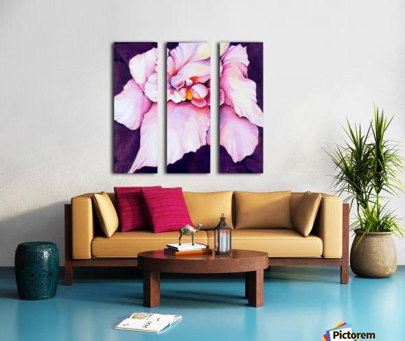 THE ORCHID Split Canvas print