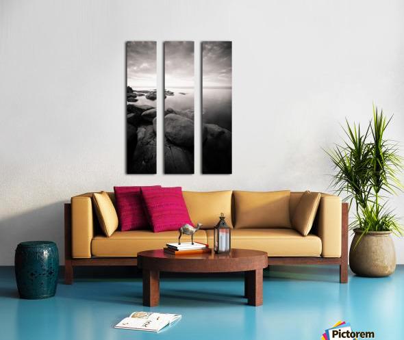 Moment of zen Split Canvas print