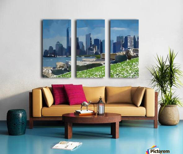 NEW YORK_View  031 Split Canvas print