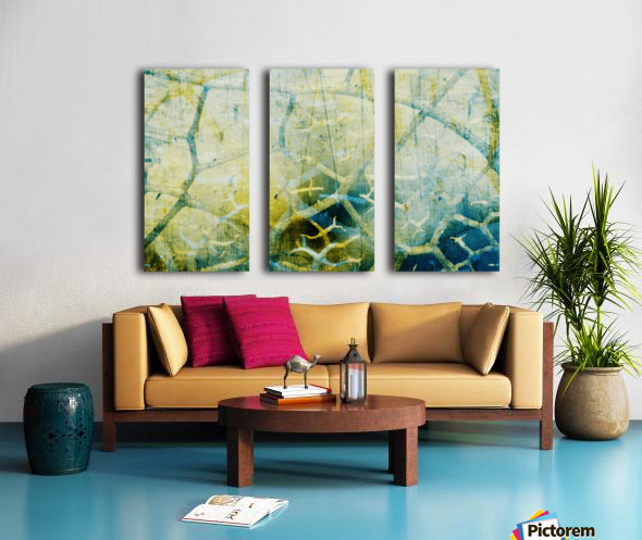 Off The Grid Split Canvas print