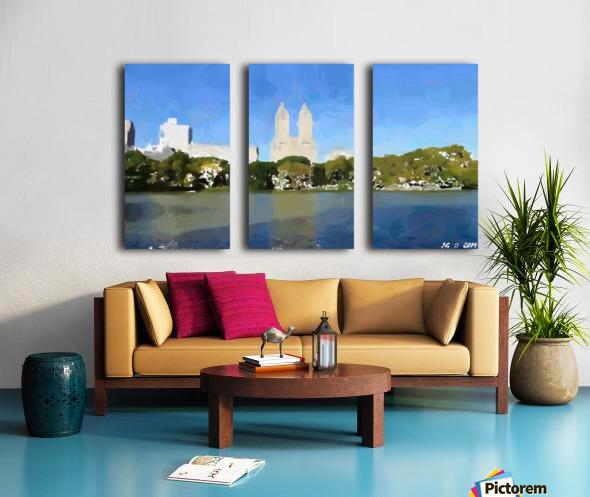 NY_CENTRAL PARK_View 047 Split Canvas print