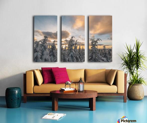 Winter sky Toile Multi-Panneaux