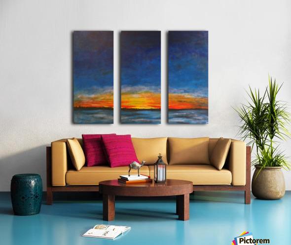 Tout Faire Do it All Split Canvas print