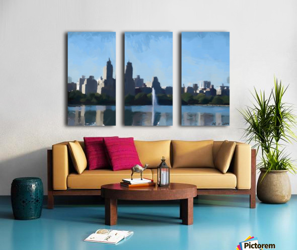NY_CENTRAL PARK_View 070 Split Canvas print