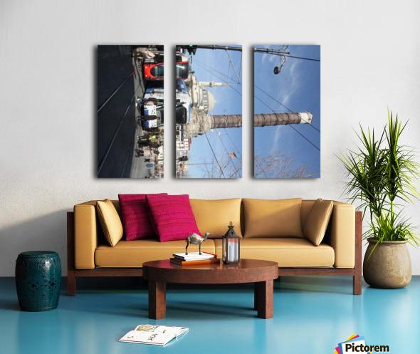Chemberlitash Split Canvas print