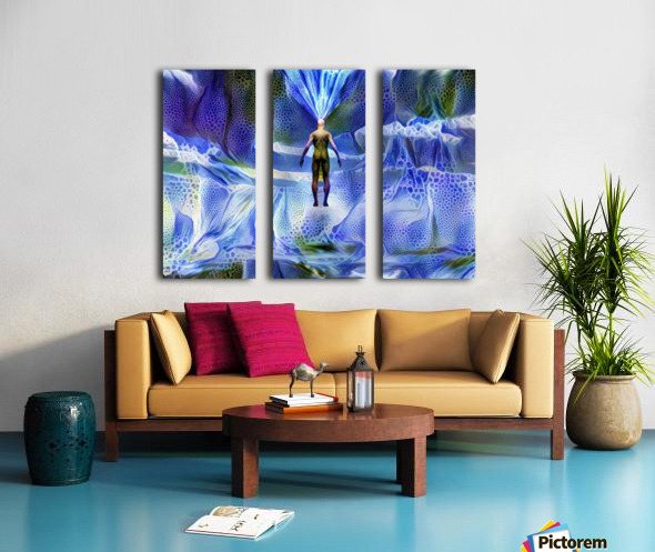 Power of Mind Split Canvas print