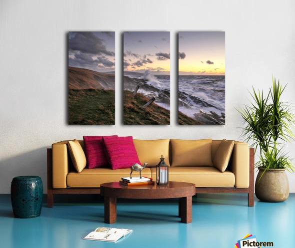 Furious Ocean Split Canvas print