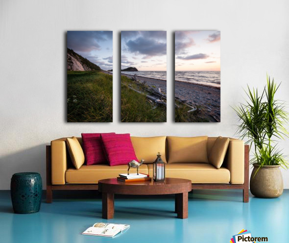 Vanilla Skies Split Canvas print