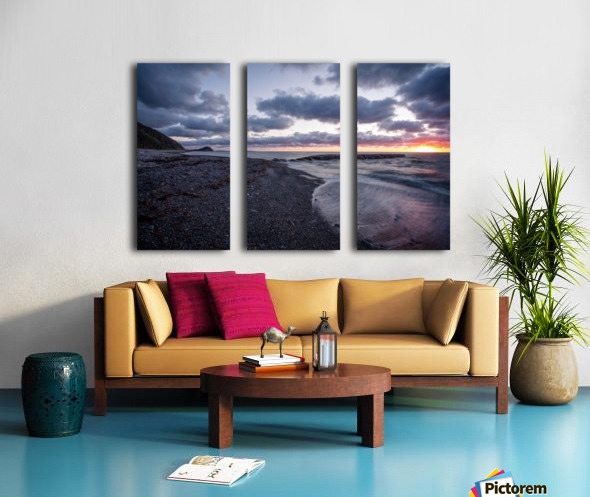 Washed by the sea Split Canvas print