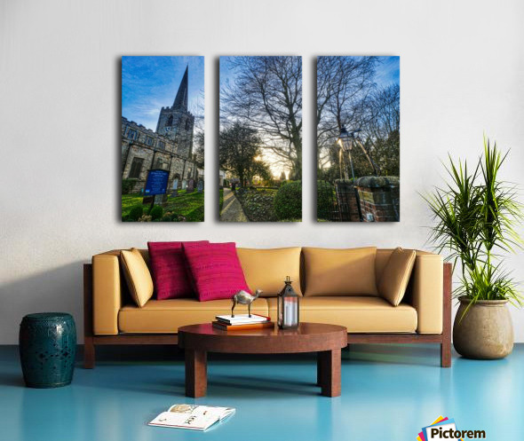 Churchyard Split Canvas print
