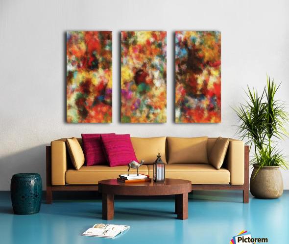 Anemones II Split Canvas print