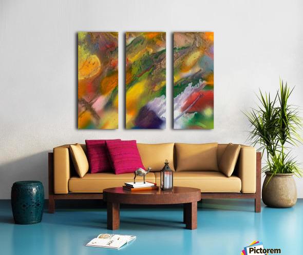 MEDITATION Split Canvas print
