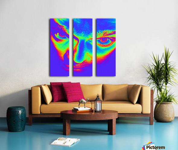 Crazy eyes Split Canvas print