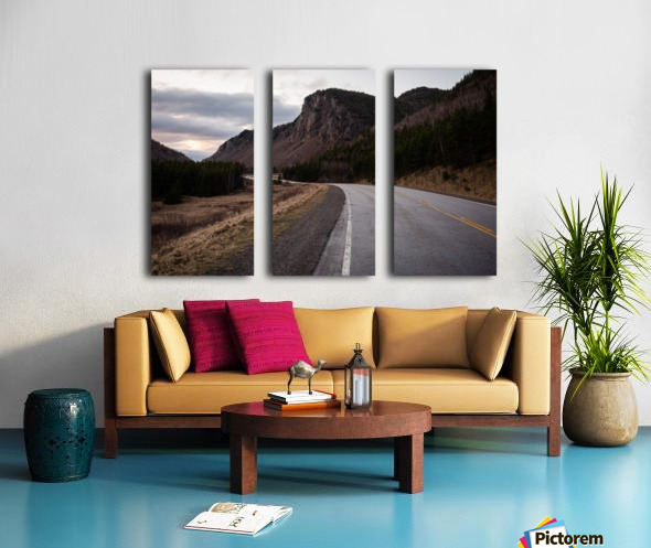 Grand Falaise Split Canvas print