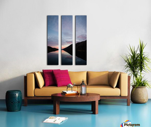 Blissful morning Split Canvas print
