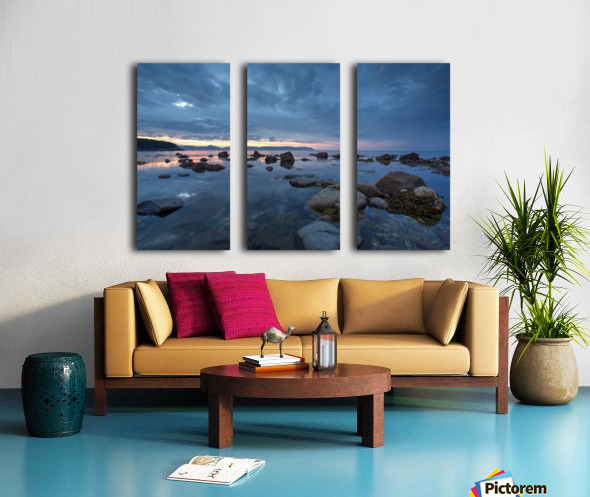 Mountain Range Split Canvas print