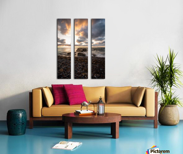 Chase the light Split Canvas print