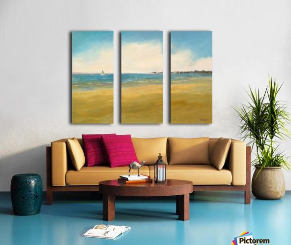 Morning Sail Split Canvas print