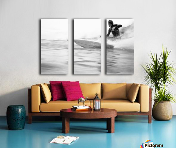 SURF STYLE Split Canvas print