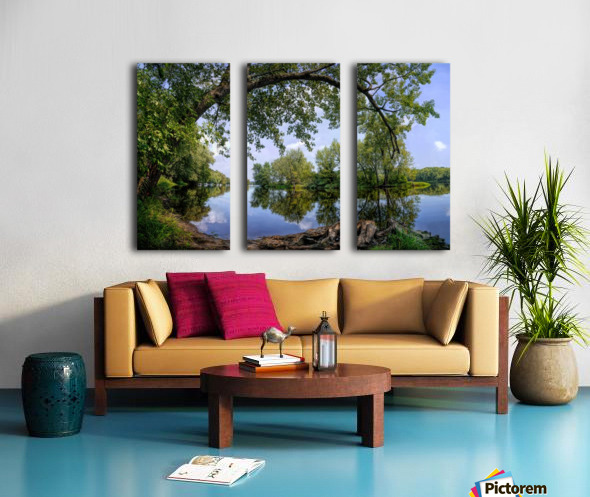 Calming Waters Split Canvas print