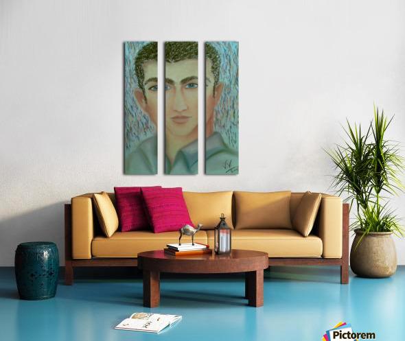 youcef Split Canvas print