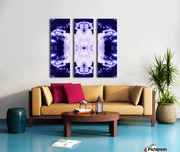 Ethereal Split Canvas print