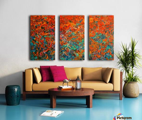 Ettorre Baïkal Split Canvas print