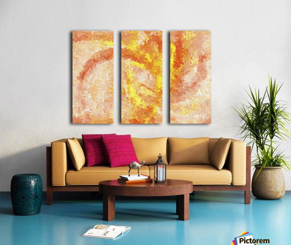 Andee Design Abstract 4 2018  Split Canvas print