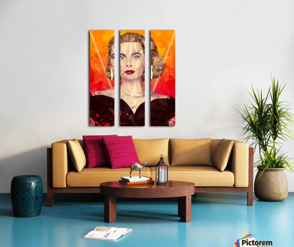 Golden Grace Split Canvas print