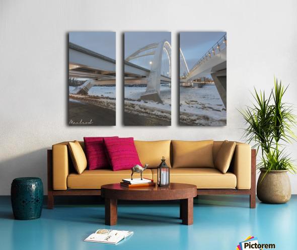 Walterdale_Bridge_NIK9885 Split Canvas print