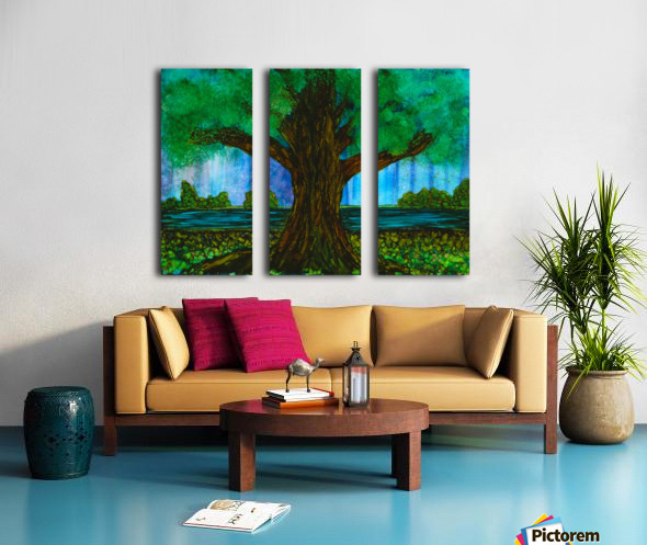 Tree  Split Canvas print