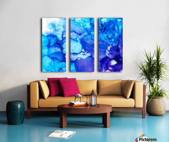 Shades of Sadness Split Canvas print