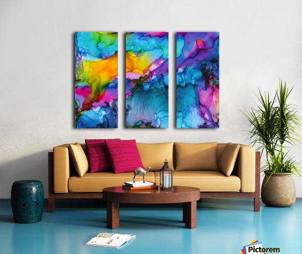 Renew  Split Canvas print