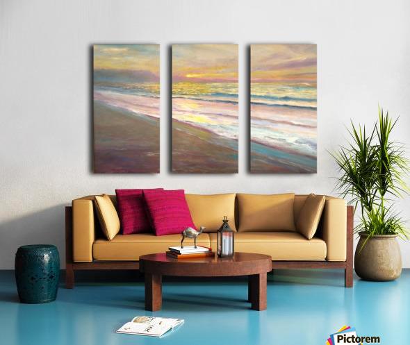 Pastel Morning Light  Split Canvas print