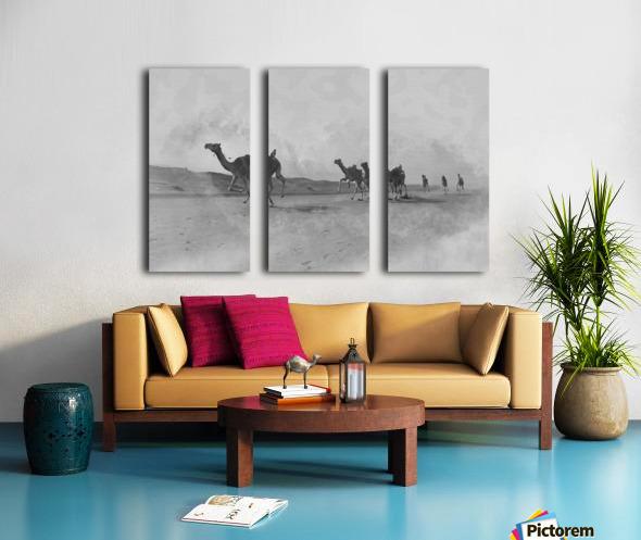 oman and traditional  Split Canvas print