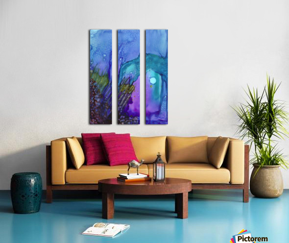 One Split Canvas print