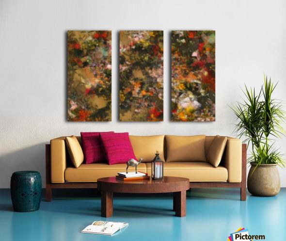 Forest by Night II Split Canvas print
