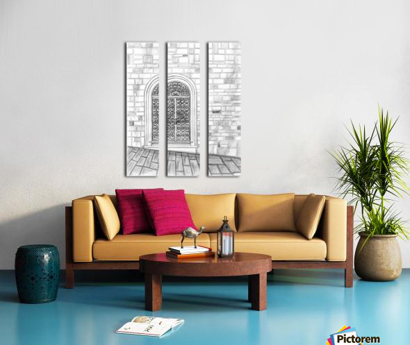 Porta Split Canvas print