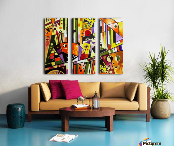 Absolute Abstracts 18 Split Canvas print