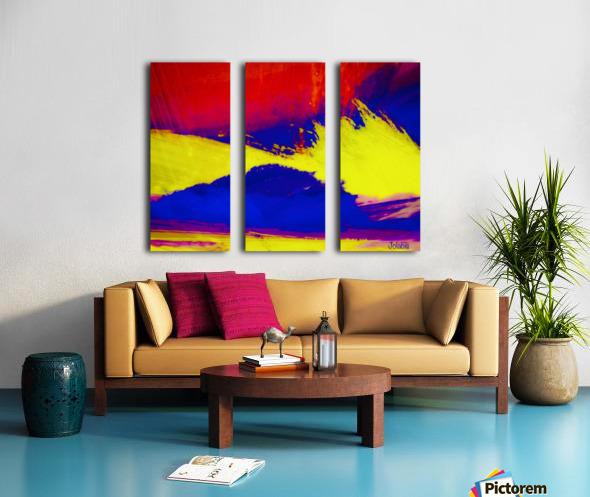 7263F901 B9EE 4C4A B3BC ACF432A498A3 Split Canvas print