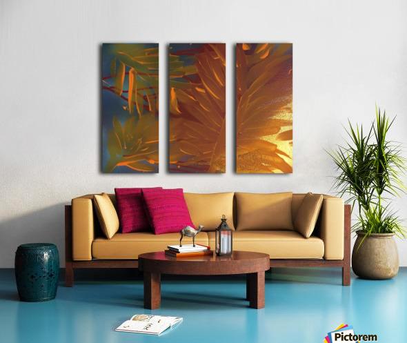 THE LEAF OF LIGHT Split Canvas print