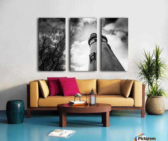Marblehead Lighthouse 2 Split Canvas print