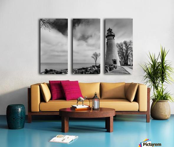 Marblehead Lighthouse 1 Split Canvas print