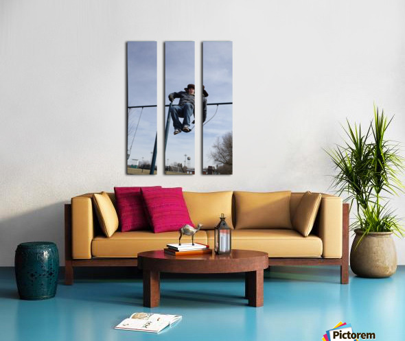 Free Fall Split Canvas print