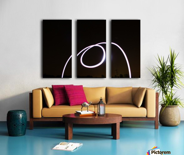 The Loop Split Canvas print