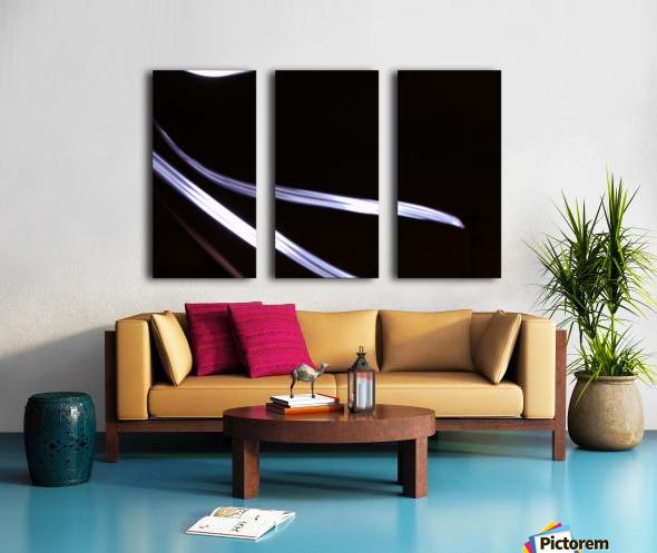 The Stream Split Canvas print